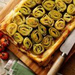 Belleau Kitchen's Caramelised Leek Tart Tatin