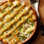 Belleau Kitchen's Creamy Chicken, Leek, Pernod and Pea Pie