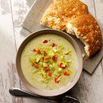 Belleau Kitchen's Leek and Cauliflower Soup with Lemongrass and Coconut Milk