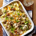 Belleau Kitchen One-Pot Oven Baked lamb and leek risotto