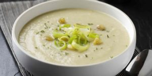 Leek, Parsnip and Chestnut Soup