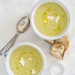 Leek and Butterbean Soup