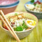 Leek & Tofu Noodle Bowl
