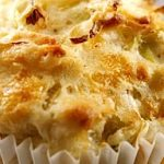 Leek and Cheese Muffins