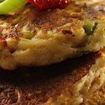 Leek and Oat Savoury Pancakes