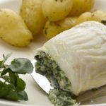 Haddock Fillet with Leek and Spinach Stuffing