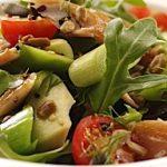 Leek, Mackerel and Avocado Salad
