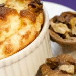 Leek and Emmental Hot Cheese Soufflé