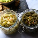 Fermented Leeks 'Leekchi' with optional fish sauce