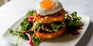 Leek and Pumpkin Rosti